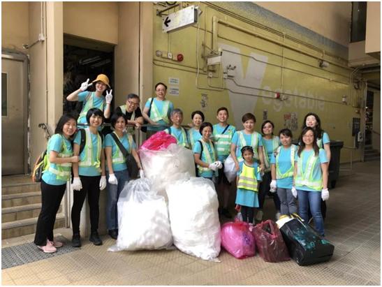 嘉里同行 回收塑料环保活动